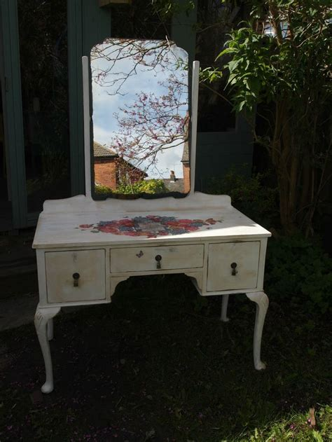 white distressed dressing table 17 best images about painted shabby chic decoupage