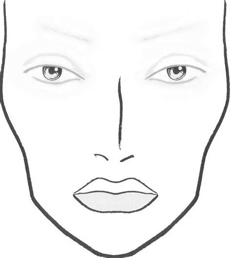 templates for drawing faces best 25 makeup drawing ideas on pinterest makeup