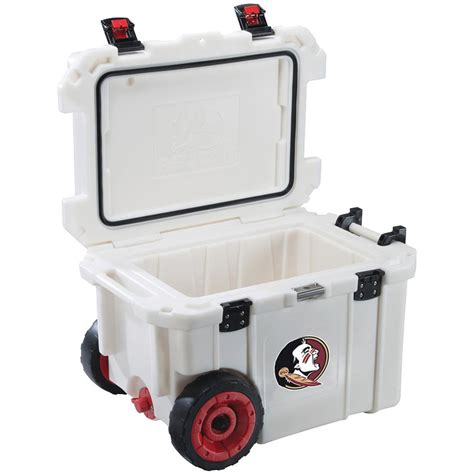 rubbermaid 75 qt blue wheeled cooler fg2c0902modbl the