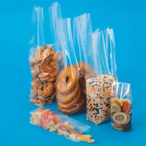 sacchetti in polipropilene per alimenti sacchetti in pp fondo quadro sacchetti trasparenti