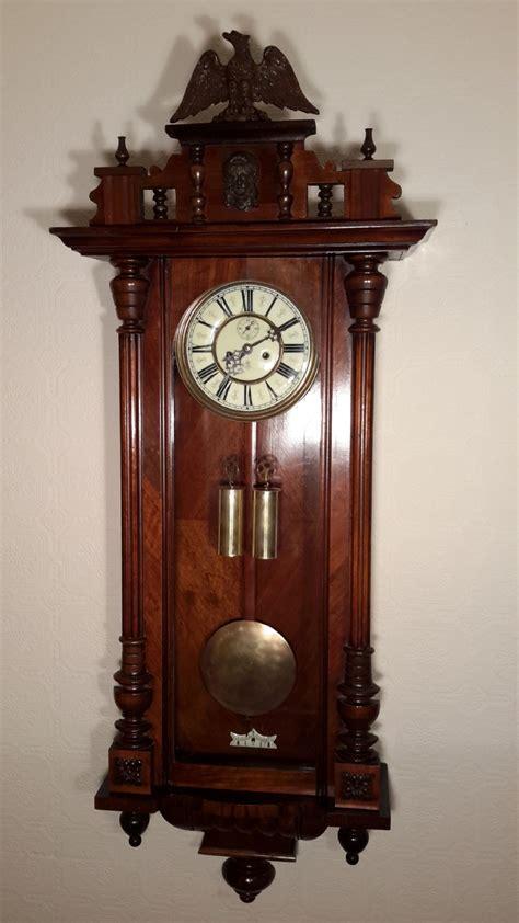 gustav becker gustav becker vienna wall clock 395585 sellingantiques