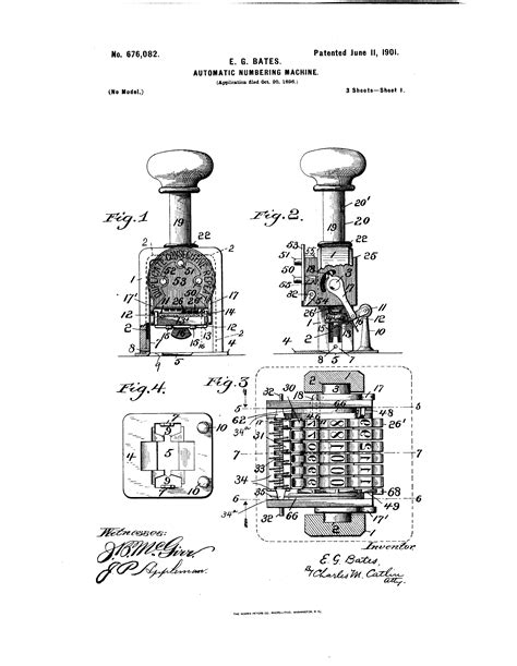 Patent Drawing Numbering