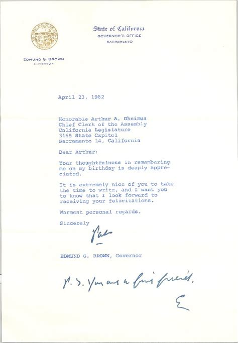 Letter To California State by Documents Clerk Assembly Ca Gov