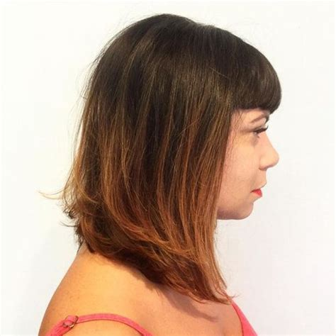Medium Hairstyles With Bangs 40 by 40 Universal Medium Length Haircuts With Bangs