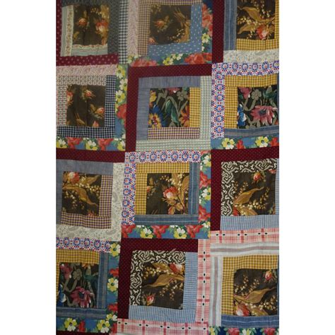 Log Cabin Quilt Shop by Log Cabin Quilt Top Unwashed From
