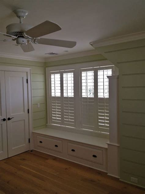 bedroom window seats with storage window seat with storage i like the tong and groove wood