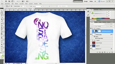 design a t shirt in photoshop tutorial adobe photoshop tutorial t shirt design nico m 246 ller