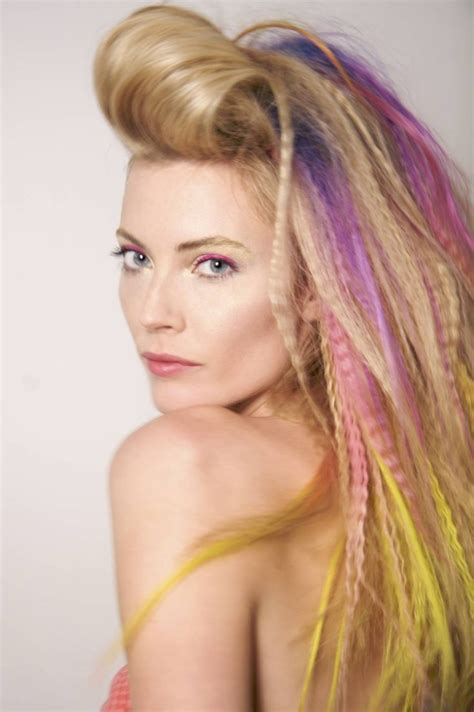 80er Frisuren selber machen   55 coole Ideen für den Party Look