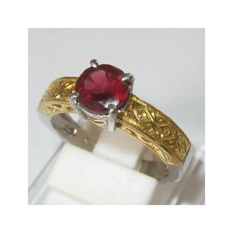 Batu Orange Sapphire Garnet Anting Perak 925 Lapis Emas jual cincin kawin perak 925 permata garnet pyrope ring 6 5us