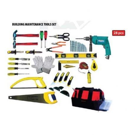 Pisau Krisbow krisbow kw0103081 building maintenance toolkit 28pcs