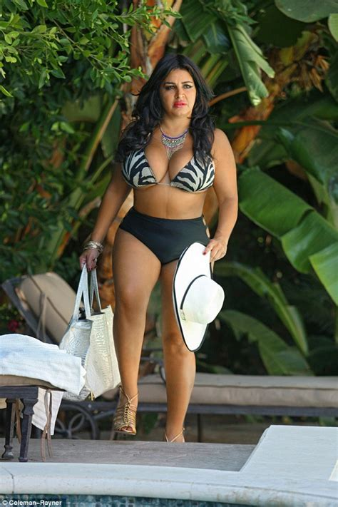 does mercedes from shaha of sunset wear a wig mercedes javid puts on an eye popping display in a zebra
