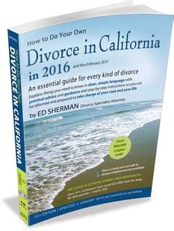 how to do your own divorce a practical step by step guide to the and financial processes in the breakdown of marriage books how to do your own divorce in california by ed sherman