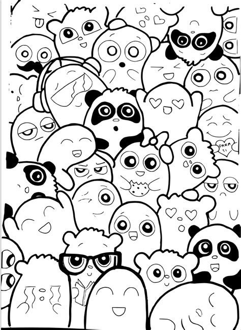 doodle for template template doodle caricatura decora tus libretas o