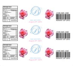 free templates for labels in word water bottle label template 23 in psd word