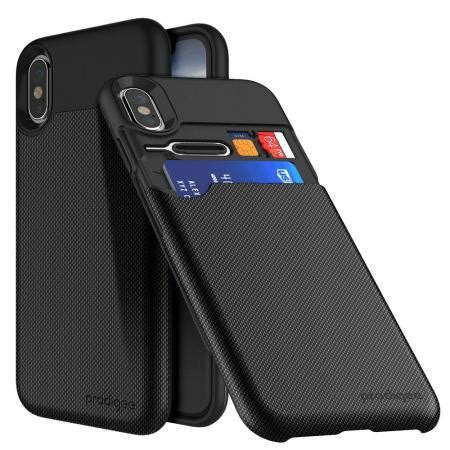 prodigee undercover iphone  card slot case black