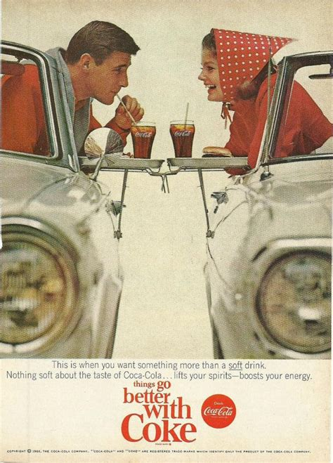 coca cola original color coca cola original 1965 vintage print ad color by