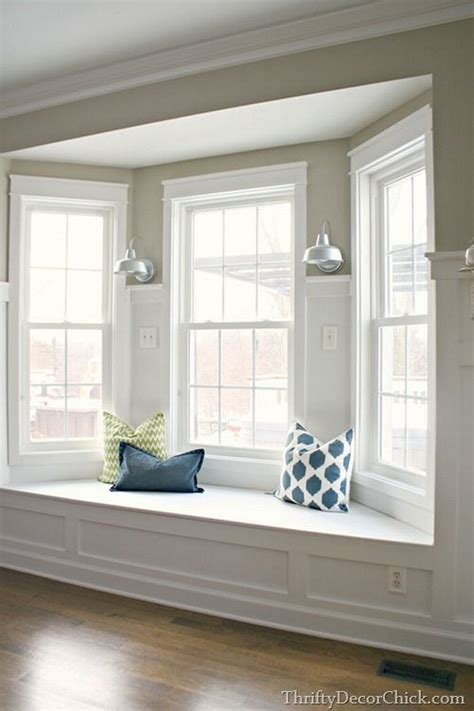 Kitchen Bay Window Seating Ideas by