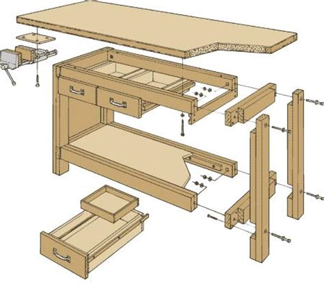 free woodworking bench plans pdf weekend workbench plans pdf plans wood box plans free