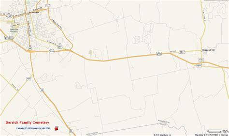 washington county texas map green h coleman 613