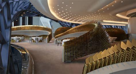 zaha hadid architects morpheus hotel   city  dreams
