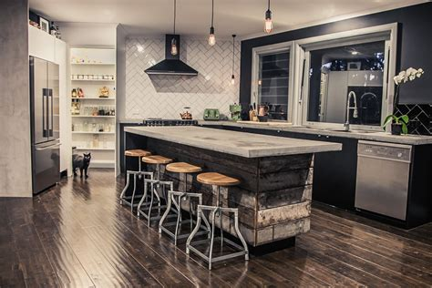 Kitchen Island Stools And Chairs good looking tractor seat bar stools in kitchen eclectic