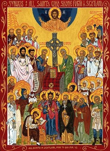 All Saints of Scotland, large icon   Ancient Faith Store