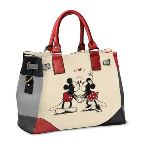Mickey Handbag handbag disney mickey and minnie story handbag by the import it all
