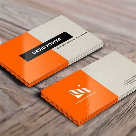 Builders Business Cards Designs Templates by 300 Creative And Inspiring Business Card Designs Page11