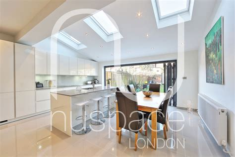 Kitchen Roof Design by Kitchen Rear Extension Ealing With Pitched Roof