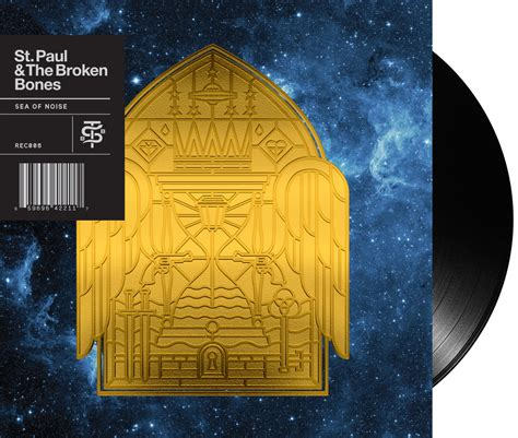 st paul and the broken bones sea of noise vinyl st paul the broken bones aaron james gresham