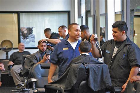 Lu Barbershop Lu Barberpole barber cross lu ross barbering academy