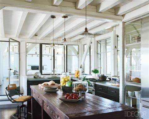 elle decor celebrity homes beach cottage