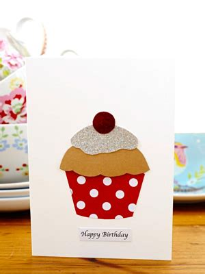 cupcake cards to make make a cupcake birthday card handmade cards