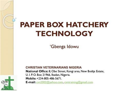 Paper Technology - echo west africa forum resources echocommunity org