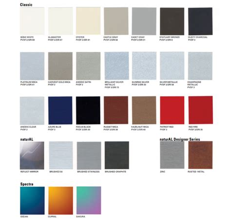 colors from nature wall panels alucobond 174 from alucobond