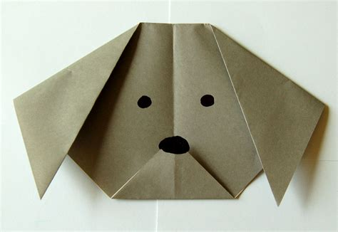 Puppy Origami - make an origami bookworm