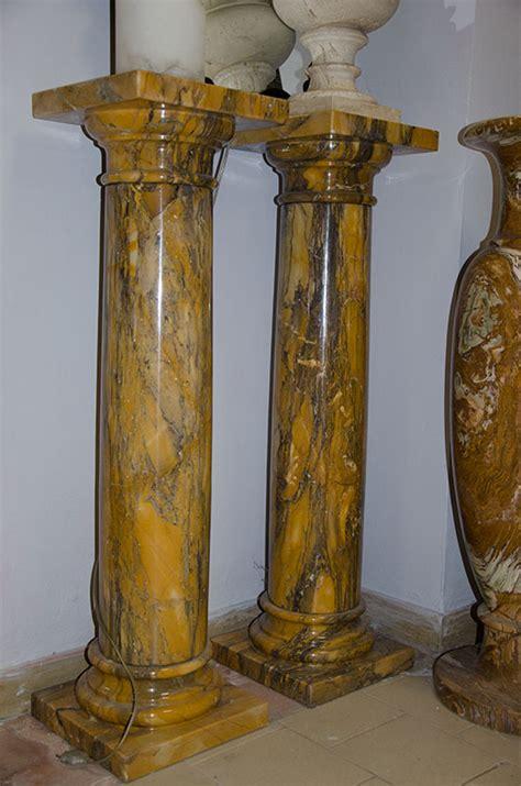 colonne in marmo per interni colonna marmo broccatello pietre raffaele cileo pietra