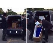 'Drop Dead Gorgeous' Teen Arrives To Prom In Coffin  New