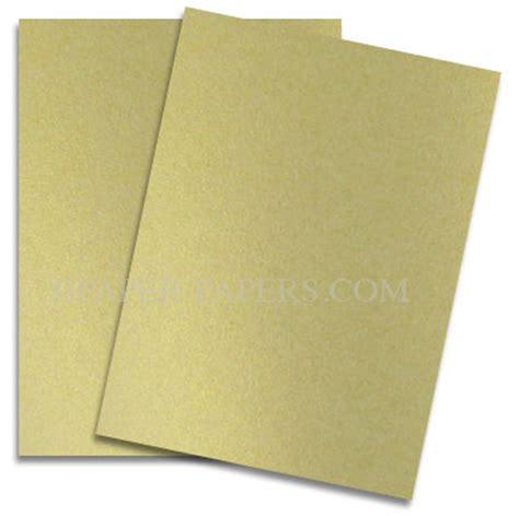 card paper stock shine light gold shimmer metallic card stock paper 8