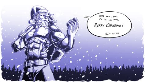 santa power merry christmas  nsio  deviantart