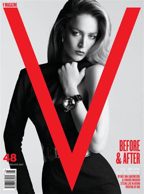 Turlington In V Magazine by Before After V Magazine интернет журнал Etoday