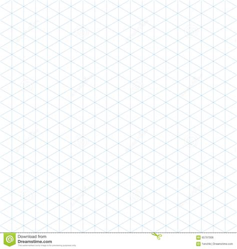 grid pattern light light blue isometric grid seamless pattern stock vector