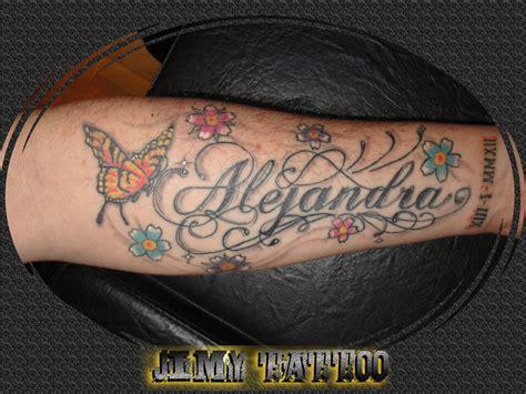 imagenes tatuajes con el nombre alejandro letras letering jimy tattoo studio