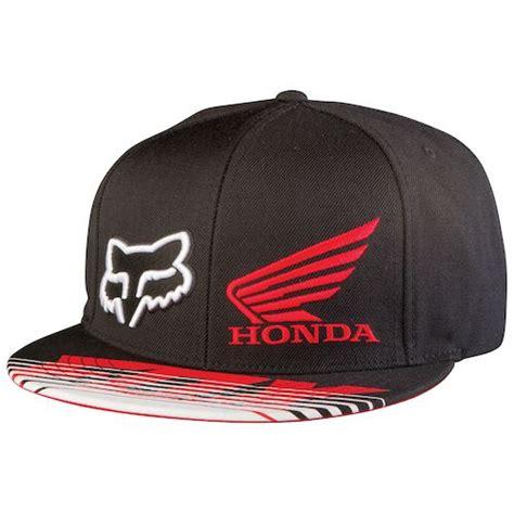 honda racing hat fox racing honda transit snapback hat revzilla