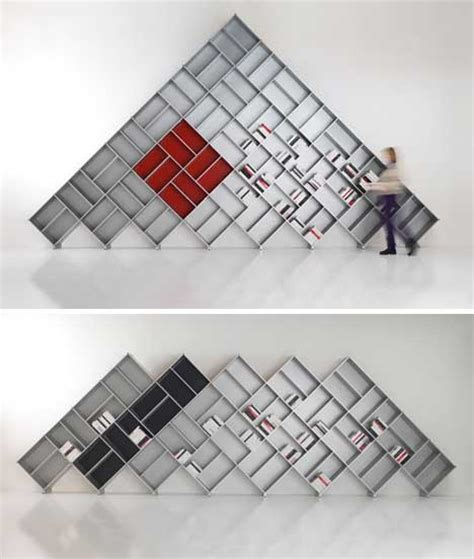 silver bookshelves 25 more unique book shelving storage solutions urbanist