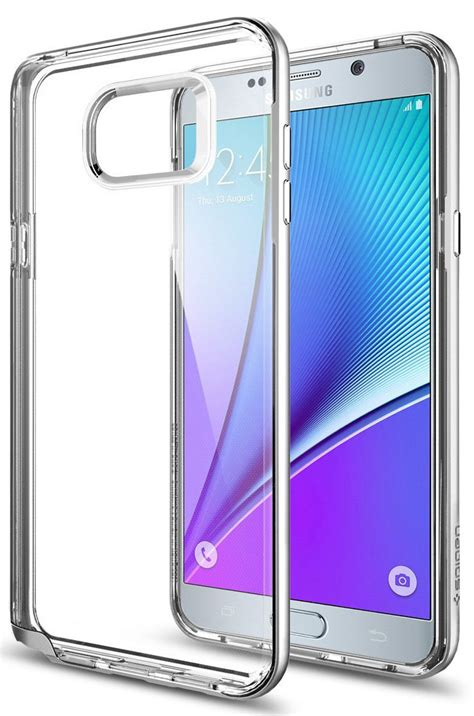 Samsung Note 5 Cover Anti Shock Neo Hybrid Carbon Casing Bumper best clear cases for samsung galaxy note 5 android central