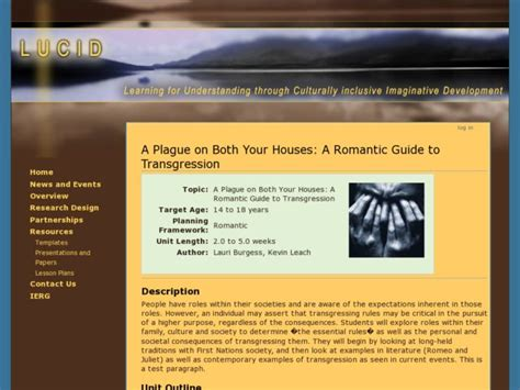 a plague on both your houses romeo and juliet resources for star crossed lovers collection lesson planet