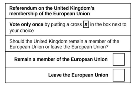voting slip template eu referendum 2016 how to vote today when do polls