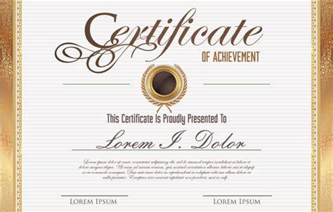 certificate design template cdr vector template certificates design graphics free vector