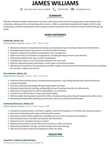 Resume Layout Exles Resume Template Easy Http Www 123easyessays Com 10 Useful Free Resume Template